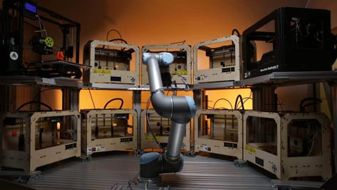 Featured image of Tend.ai Raise $2 Million for Robotic Arm that Operates Multiple 3D Printers