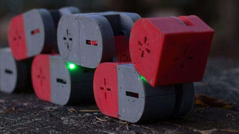 Featured image of Dtto is a 3D Printed, Self-Configurable Modular Robot