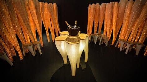 Featured image of Maison Perrier-Jouët's 3D Printed Strand Garden at Design Miami