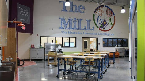 Featured image of Mount Olive High School Opens MakerBot Innovation Center