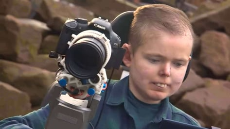 Featured image of 3D Printed Camera Rig Brings Joy to Terminally Ill Photographer