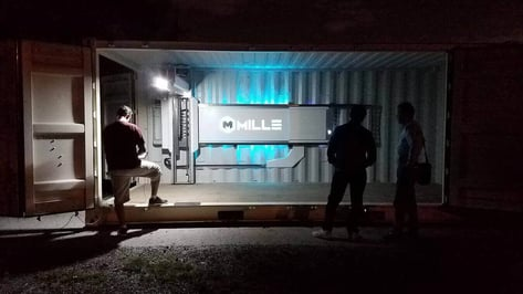 Featured image of Millebot is a Huge 3D Printer Built Inside a Shipping Container