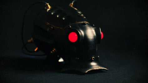 Featured image of 3D Printed Cyber Octopuses Star in Retro-Future Sci-Fi Movie