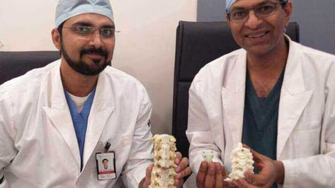 Featured image of Indian Woman Walks Again thanks to 3D Printed Vertebrae