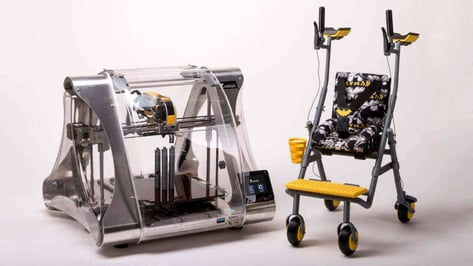 Featured image of Prototyping a Multifunctional Walker with 3D Printing