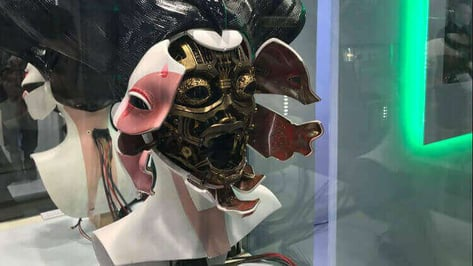 Featured image of Adam Savage Explores the 3D Printed Geisha from Ghost in the Shell