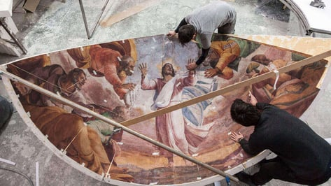 Featured image of Recreating Michelangelo and Sebastiano's Roman Chapel in 3D
