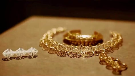 Featured image of Isharya Launches Debut Line of 3D Printed Jewelry