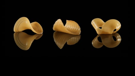 Featured image of This 3D Printed Pasta Changes Shape When Dunked in Water