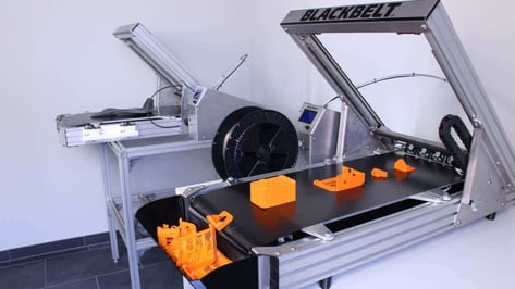 "Featured image of Updated: Blackbelt 3D Printer ""Changing Paradigms"" of FDM Technology"