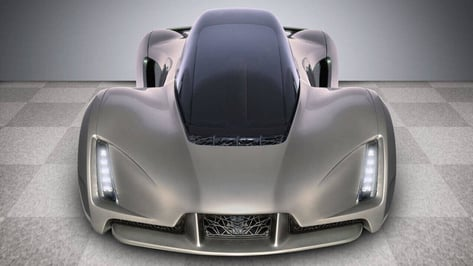 "Featured image of Jay Leno Takes Joyride in Divergent3D's ""3D Printed Supercar"""