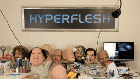 "Featured image of Hyperflesh 3D Prints Molds to Create ""Disturbingly Realistic"" Masks"
