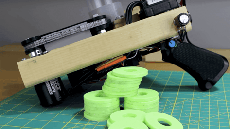 Featured image of YouTuber Creates 3D Printed Homemade Disc Shooter