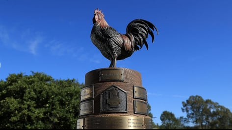 "Featured image of How 3D Printing Helped Create the PGA Tour's ""Reveille the Rooster"" Trophy"