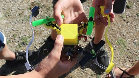Featured image of Catalan Startup Introduces Educational Drone Kit to Teach STEM