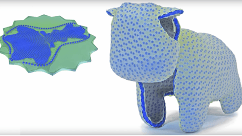 """Featured image of """"CurveUps"""" Are Flat Printed Objects That Transform Into 3D Shapes"""