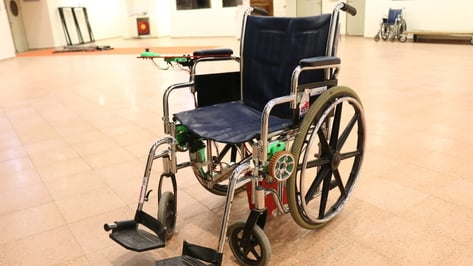 Featured image of 3D Printed Electric Wheelchair Kit made by High Schoolers