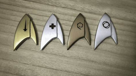 "Featured image of 3D Print Your Own ""Star Trek: Discovery"" Badges"