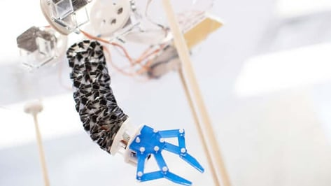 Featured image of Origami-Inspired 3D Printed Robot Offers Softer Side to Assembly Lines