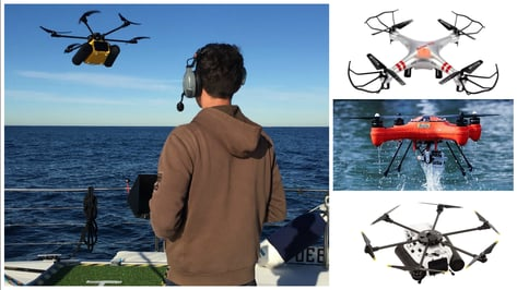 Featured image of 10 Best Waterproof Drones You Can Fly