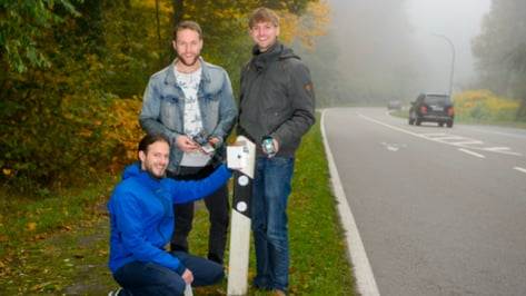 "Featured image of Students Develop 3D Printed ""Ghostbuster"" to Alert Drivers on Wrong Side of the Road"