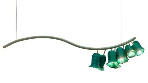 Featured image of Designer Van Eijk 3D Prints Foxglove-Inspired Lampshades