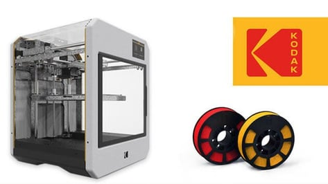 Featured image of Kodak Enters 3D Printing, Will Sell 3D Printers and Filament Soon