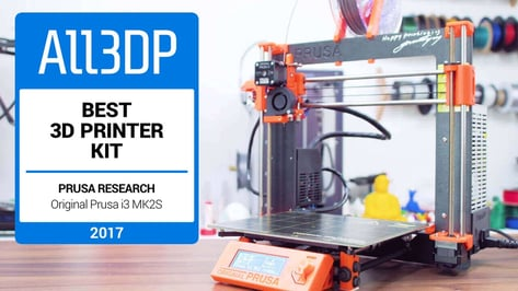 Featured image of Original Prusa i3 MK2 Review: Best 3D Printer Kit of 2017