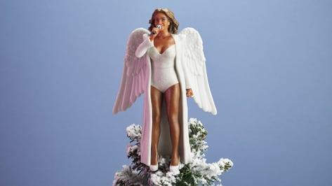 Imagen principal de Beyoncé, Hillary y Serena en 3D como adorno navideño