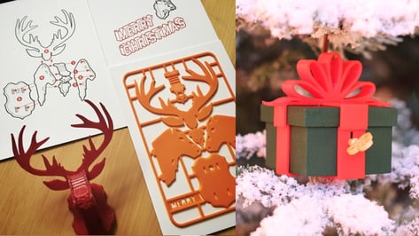 Featured image of 30 Festive Christmas Decorations to 3D Print at Home