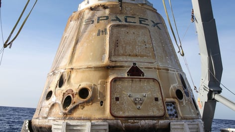 Featured image of SpaceX Research Vessel Returns to Earth