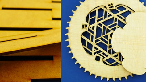 Featured image of New MDF and Plywood Laser Cutting Materials Available at Sculpteo