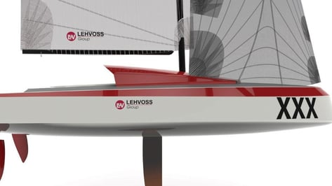Featured image of Lehvoss Group Provides Carbon-Reinforced Thermoplastics for World's First 3D Printed Yacht
