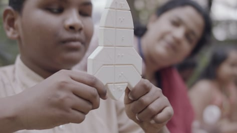 Featured image of 3D Printing and Distributing the Fittle Puzzle to Help People in India Learn Braille