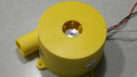 Featured image of Make a Better Cooling Fan Blower using a 3D Printer and Hard Disk Drive Motor