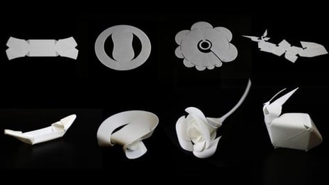 Featured image of Researchers Develop Thermorph Technique to Print Self-Folding Objects