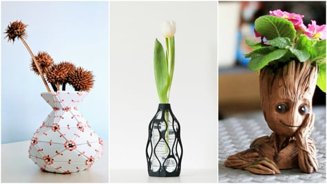 Featured image of 3D Printed Vase: 10 Best Curated Models to 3D Print