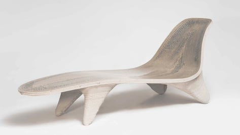 Featured image of First 3D Printed Chaiselongue at Milan Design Week 2018