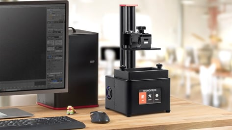 Featured image of 2018 Monoprice MP Mini Deluxe SLA – Review the Specs