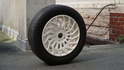 Featured image of BigRep Prototypes Big with a 3D Printed Wheel Rim