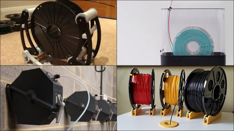 Featured image of 3D Printer Spool Holder – 5 Best Models to 3D Print or Buy