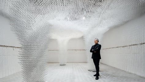 Featured image of Larger-Than-Life 3D Printed Architectural Structure on Display at 2018 Venice Biennale