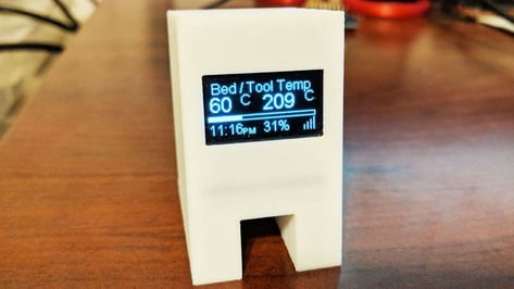 Featured image of [Project] Create Your Own 3D Printer Monitor for Octoprint