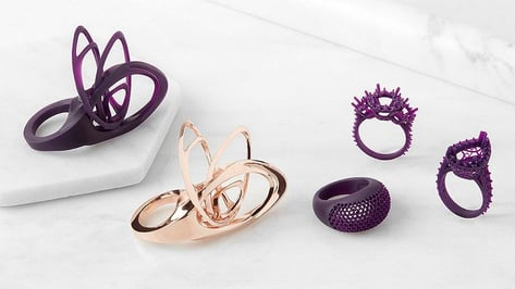 Featured image of Formlabs Launches Castable Wax Resin for 3D Printing Jewelry