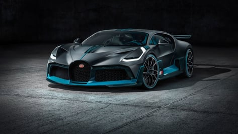 Featured image of New Bugatti Divo Supercar Features an Elegant 3D Printed Rear Grille