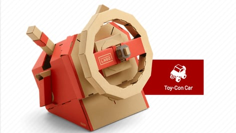 Featured image of New Nintendo Labo Kit to Teach Basic Engineering