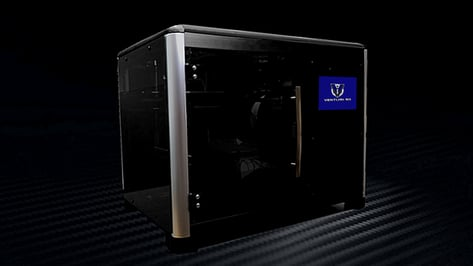 Featured image of Venturi 3D Launches 3D Printer on Kickstarter with 1,000 Pre-Installed 3D Models