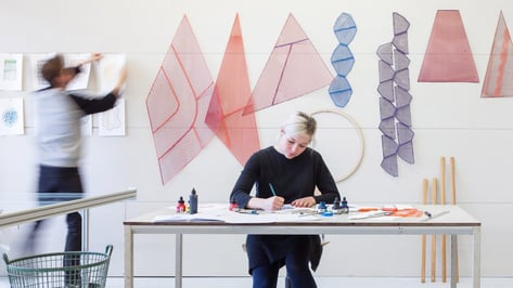 Featured image of Studio Plott Display 3D Printed Rugs at London Design Festival