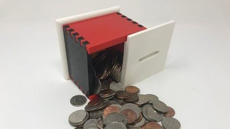 Featured image of [Project] Stash Your Cash in this 3D Printed Secret Coin Bank