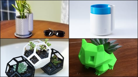 Featured image of 3D Printed Planter:10 Great Curated Models to 3D Print